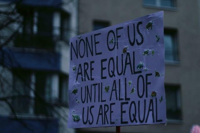 cartaz feminista