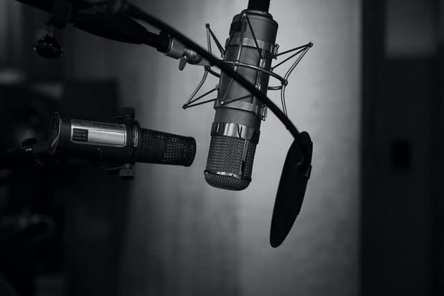 material de podcast